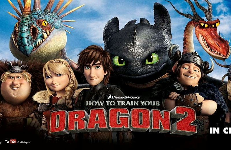 how to train a dragon movie online