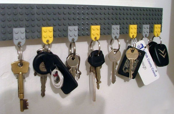 You Can Make A Key Holder From Legos