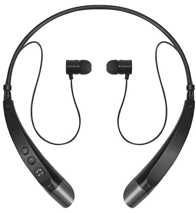 sentry lowrider on the neck bluetooth headphones bt900 black sale. Black Bedroom Furniture Sets. Home Design Ideas