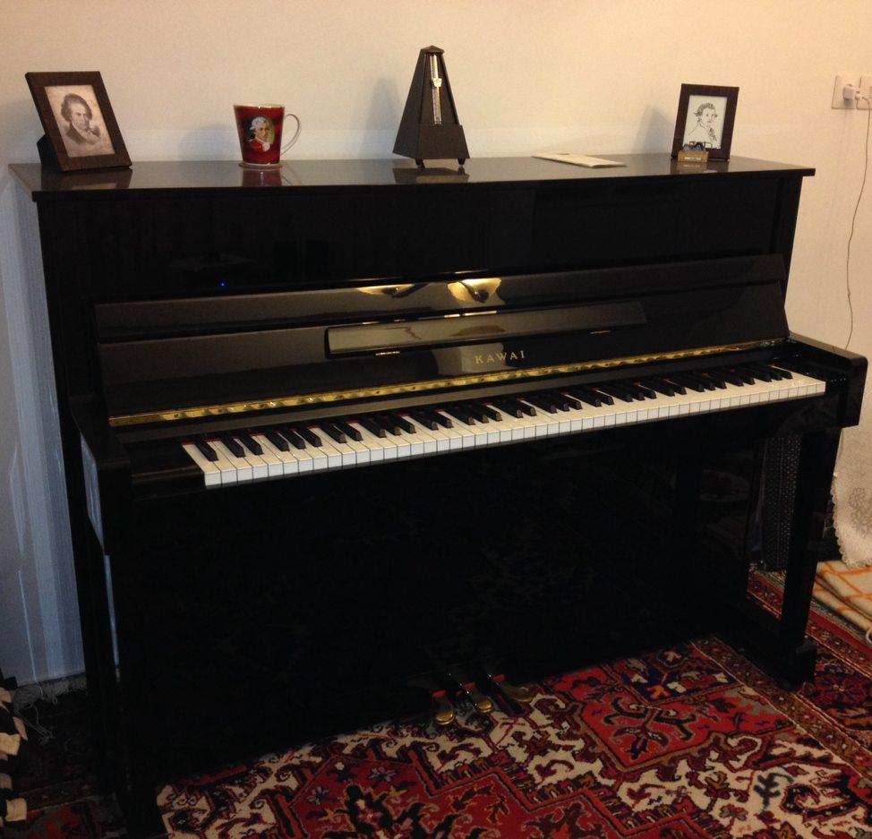 فروش پیانو دست دوم KAWAI ژاپن . بسیار سالم در حد نو