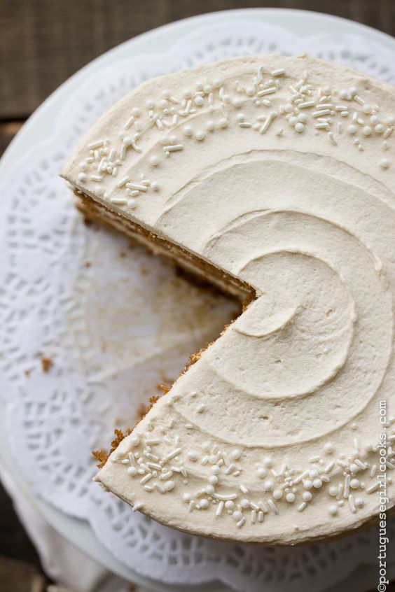 elegant white cake