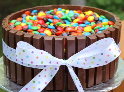 M&M's Choco cake
